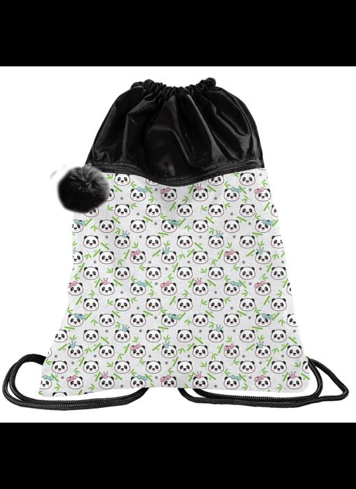 Panda Gym bag 45 x 34 cm