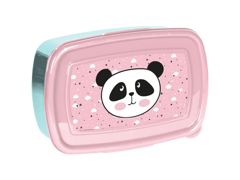 Panda Lunch box - 18 x 12 x 6 cm - BPA free