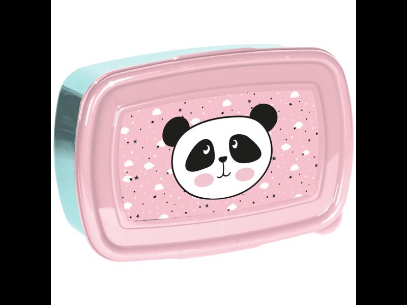 Panda Lunchbox - 18 x 12 x 6 cm - BPA-vrij