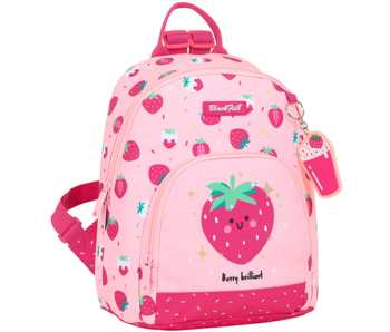 BlackFit8 Toddler backpack Strawberry 28 x 24 cm