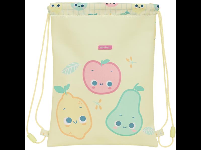 Tutti Frutti Junior Gymbag Appel - 34 x 26 cm - Polyester