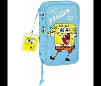SpongeBob Étui à crayons rempli Positive Vibes - 28 pcs.