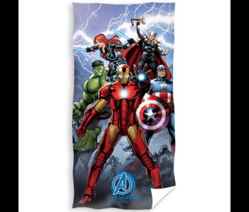 Marvel Avengers Beach towel Action 70 x 140 cm Cotton