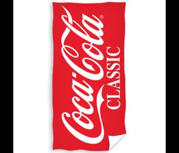 Coca Cola Strandlaken Logo 70 x 140 cm Katoen