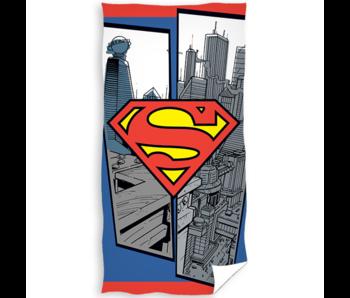 Superman Strandlaken Logo 70 x 140 cm Katoen