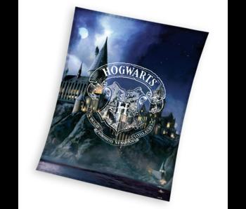 Harry Potter Fleece deken Hogwarts 150 x 200 cm