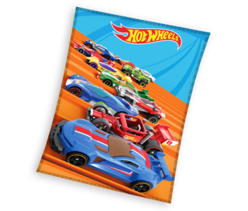 Hot Wheels Fleece blanket Race 110 x 140 cm