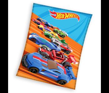 Hot Wheels Fleece deken Race 110 x 140 cm
