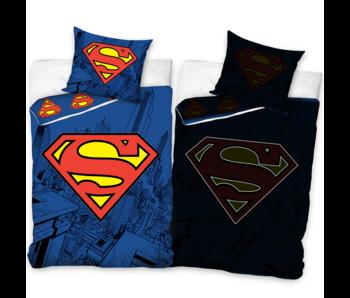 Superman Dekbedovertrek Glow in the Dark 140 x 200 Katoen