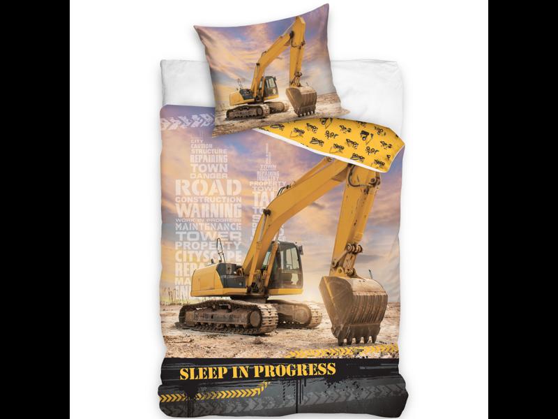 Graafmachine Housse de couette Sleep in Progress - Simple - 140 x 200 cm - Coton