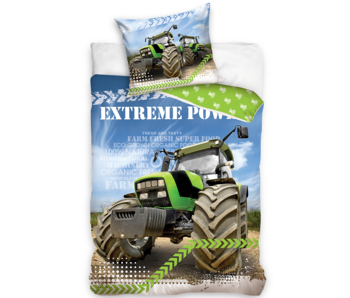 Traktor Dekbedovertrek Extreme Power 140 x 200 Katoen