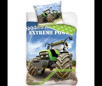 Traktor Housse de couette Extreme Power 140 x 200 Coton