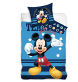 Disney Mickey Mouse Duvet cover Team - Single - 140 x 200 cm - Cotton