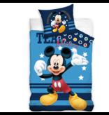 Disney Mickey Mouse Housse de couette Team - Simple - 140 x 200 cm - Coton