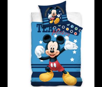 Disney Mickey Mouse Dekbedovertrek Team 140 x 200 Katoen