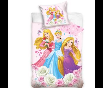 Disney Princess Housse de couette Fleurs 140 x 200 Coton
