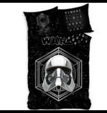 Star Wars Housse de couette Storm Trooper - Simple - 140 x 200 cm - Coton