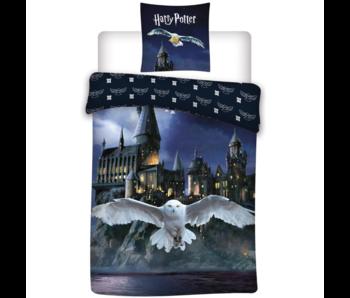 Harry Potter Dekbedovertrek Hogwarts Hedwig 140 x 200 Polyester
