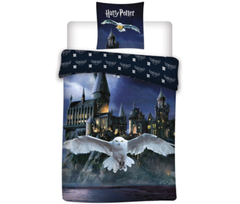 Harry Potter Duvet cover Hogwarts Hedwig 140 x 200 Polyester
