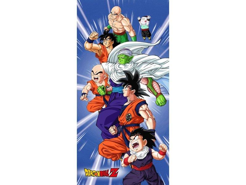Dragon Ball Z Strandlaken Goku - 70 x 140 cm -  Katoen