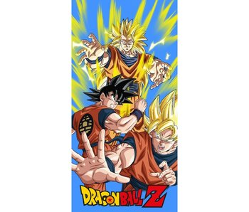 Dragon Ball Z Strandlaken Power 70 x 140 cm Katoen