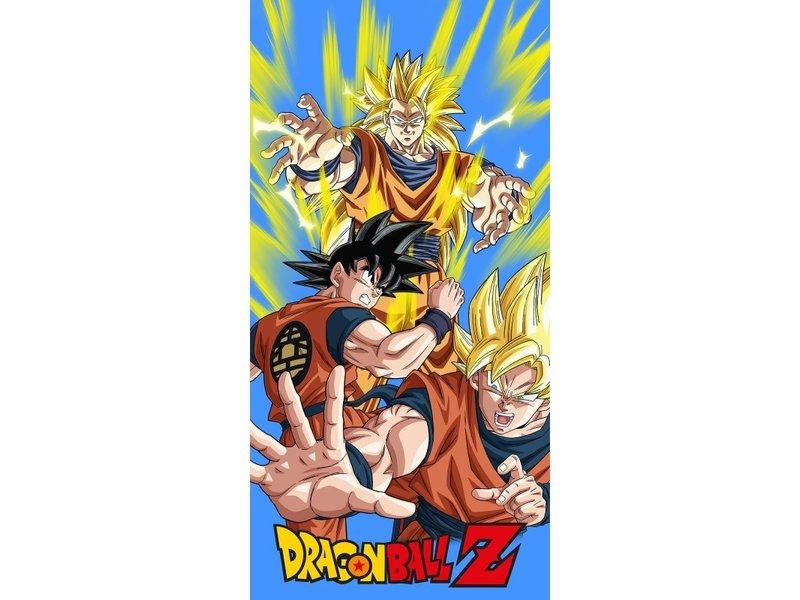 Dragon Ball Z Strandlaken Power - 70 x 140 cm -  Katoen