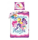 My Little Pony Housse de couette Believe in Magic - Simple - 140 x 200 cm - Coton