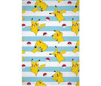 Pokémon Couverture polaire Pikachu 130 x 170 cm