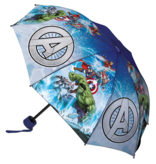 Marvel Avengers Paraplu Compact Battle - ø 90 x 24 / 55 cm - Polyester