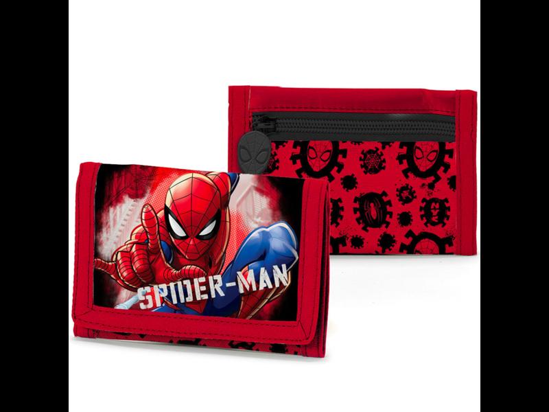 SpiderMan Portemonnee - 13 x 8 cm - Polyester