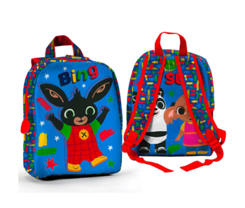 Bing Bunny Toddler backpack It's a Bing Time 27 x 22 cm