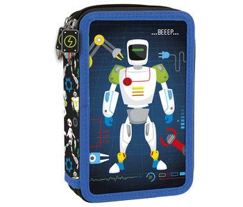 Robot Étui à crayons rempli BEEP - 27 pcs.