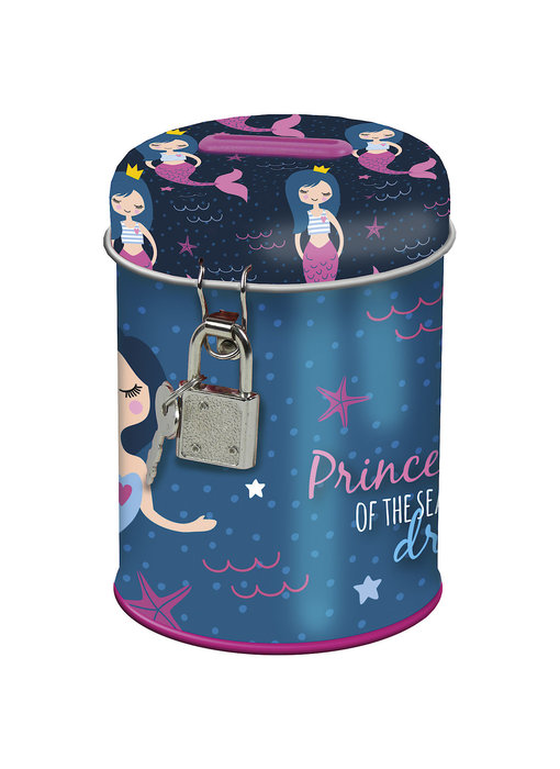 Zeemeermin Money box with lock Princess of the Sea 11.5 cm