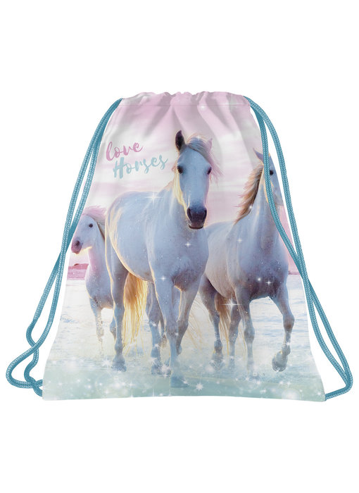 Animal Pictures Gym bag I Love Horses - 41 x 35 cm