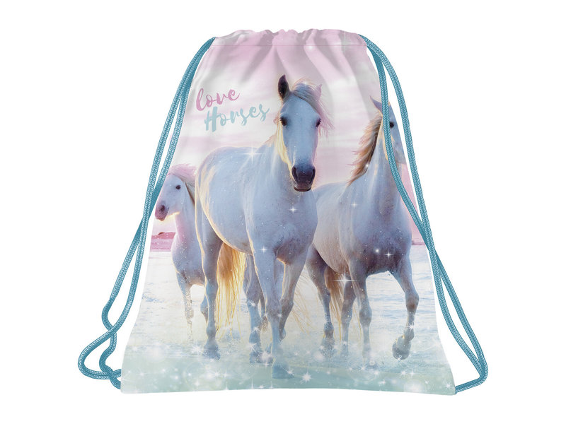 Animal Pictures Gymbag I Love Horses - 41 x 35  cm - Polyester