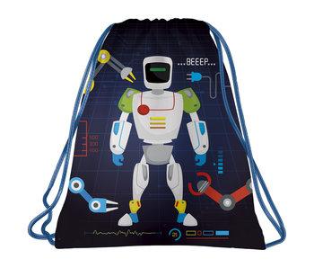 Robot Gymbag Beeep 41 x 35 cm