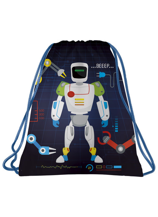 Robot Gym bag Beeep 41 x 35 cm