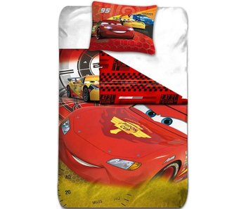 Disney Cars Dekbedovertrek Lightning McQueen 140 x 200 Polyester