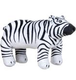 Animal Planet Cuddly toy James the Zebra Polar Bear Plush - 32 cm - Recycled Polyester