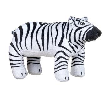 Animal Planet Pluche James the Zebra Polar Bear 32 cm