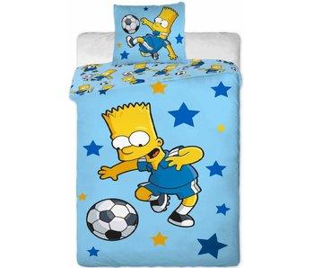 The Simpsons Dekbedovertrek Football Star 140 x 200 Katoen