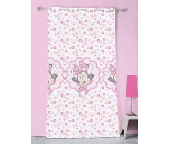 Disney Minnie Mouse Gardine Stilvoll Pink - 140 x 240 cm - Polyester