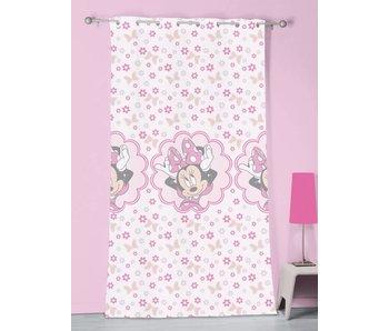 Disney Minnie Mouse Vitrage Gordijn Stylish Pink - 140 x 240 cm - Polyester