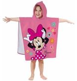 Disney Minnie Mouse Poncho Bloem - 60 x 120 cm - Katoen