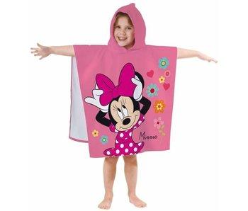 Disney Minnie Mouse Poncho Bloem 60 x 120 cm