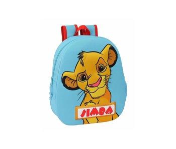 Disney The Lion King Sac à dos enfant Simba 3D 32 x 27 cm