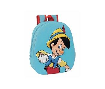Disney Pinokkio Sac à dos enfant 3D 32 x 27 cm