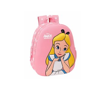 Disney Alice Sac à dos enfant 3D 32 x 27 cm