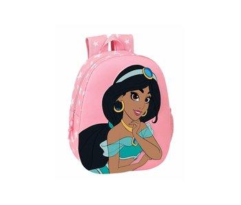 Disney Jasmine Sac à dos enfant 3D 32 x 27 cm