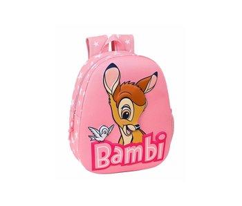Disney Bambi Sac à dos enfant 3D 32 x 27 cm